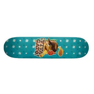 Viva Gato! Shape De Skate 18,1cm