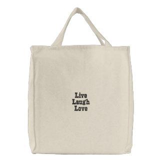 Vive o amor do riso bolsa