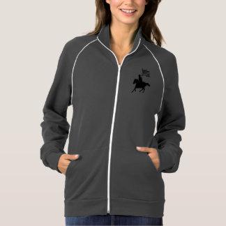 Vivo, riso, amor & passeio jaqueta com estampa