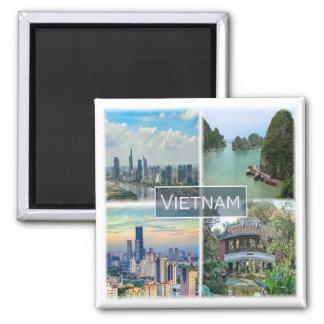 VN * Vietnam Ímã Quadrado