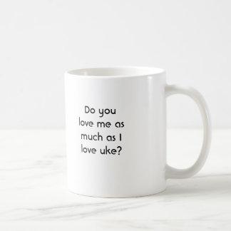 Você ama-me… caneca de café