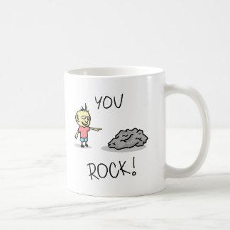 Você balança! Desenhos animados Caneca De Café