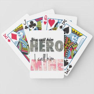 Você chama-o um herói que eu o chamo mina jogos de cartas