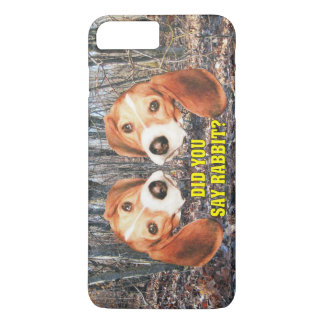 Você disse o coelho? Lebreiro Capa iPhone 8 Plus/7 Plus