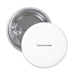 Você é botão engraçado do pinback da pia batismal pins