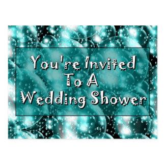 Você é convidado a um chá de casamento cartão postal