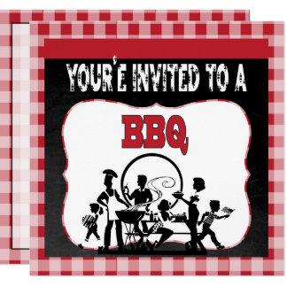 Você é convidado a um convite do assado do