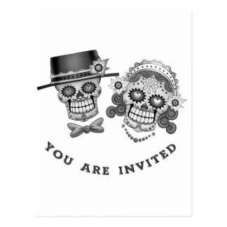 Você é convidado - casamento casamento votos cartões postais