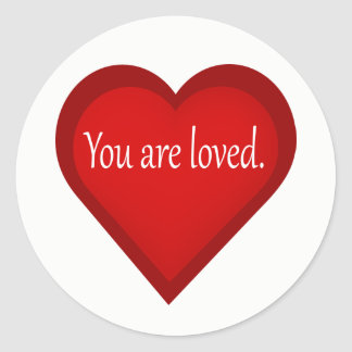 Você é etiqueta amada do afirmativo do coração