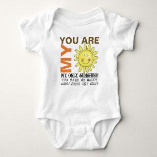 Você é minha luz do sol tshirt