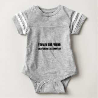 Você é o amigo body para bebê