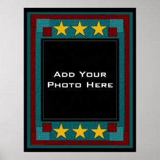 Você é o modelo da foto da estrela impressão