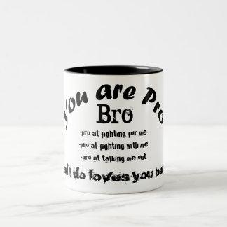 você é pro copo de chá preto do bro caneca