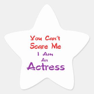 Você não pode susto mim que eu sou uma actriz adesito estrela
