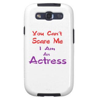 Você não pode susto mim que eu sou uma actriz galaxy SIII capa
