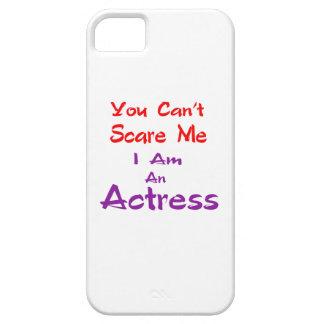 Você não pode susto mim que eu sou uma actriz capa barely there para iPhone 5