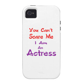 Você não pode susto mim que eu sou uma actriz capas para iPhone 4/4S