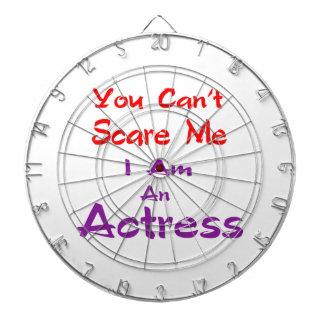 Você não pode susto mim que eu sou uma actriz tablero dardos