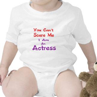 Você não pode susto mim que eu sou uma actriz babador