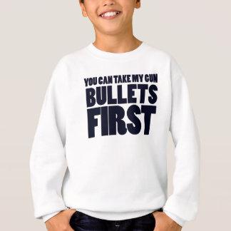 Você pode tomar minhas balas das armas camiseta