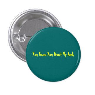 Você sabe que você quer meu botão da sucata bóton redondo 2.54cm