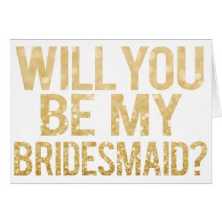 Você será meu cartão da tipografia do brilho da