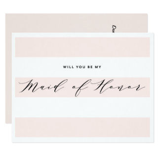 Você será minha madrinha de casamento? cartão da convite 10.79 x 13.97cm