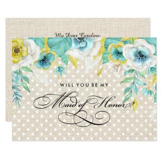Você será minha madrinha de casamento? Convites