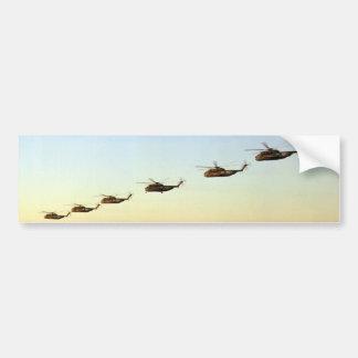 vôo do motor dos helicópteros do transporte dos adesivo para carro