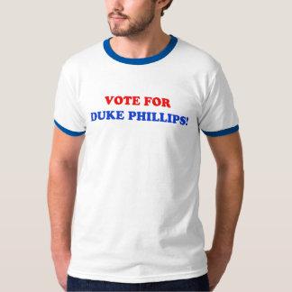 Voto para o duque Phillips Campainha T-shirt