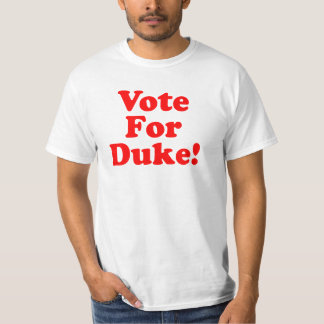 Voto para o duque Phillips Valor Camisa Tshirt