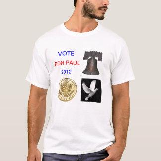 Voto Ron Paul camisa de 2012 T