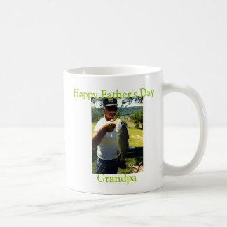 Vovô da pesca caneca de café
