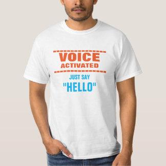 Voz ativada tshirt