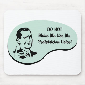 Voz do pediatra mouse pad