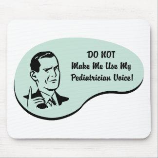 Voz do pediatra mousepads