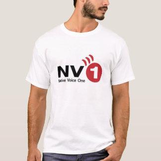 Voz nativa uma - t-shirt