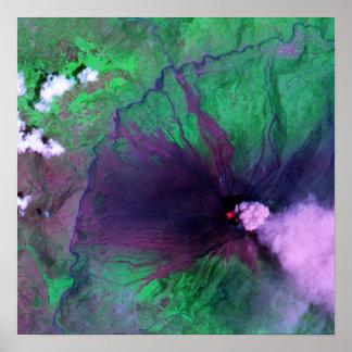 Vulcão de Tungurahua em Equador Impressão