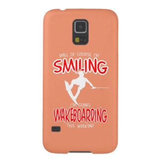 WAKEBOARDING de SORRISO Weekend 1 BRANCO Capinhas Galaxy S5