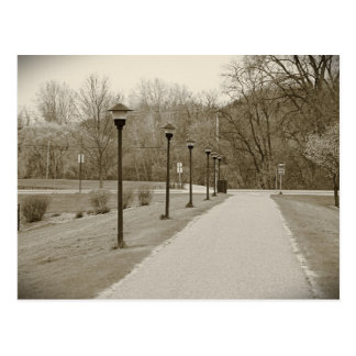 Walk2 Cartão Postal