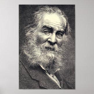 Walt Whitman que grava, idade 52 Poster