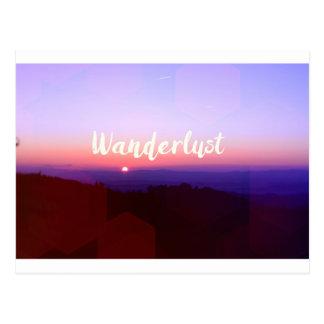 Wanderlust Cartão Postal