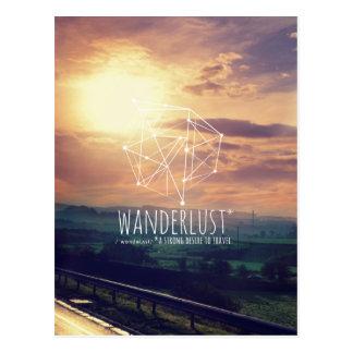 Wanderlust (colinas): Cartão (vertical) Cartão Postal
