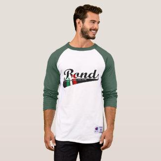 Warmup do basebol das ligações tshirt