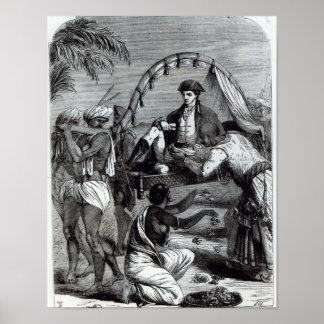 Warren Hastings em India em 1784 Poster