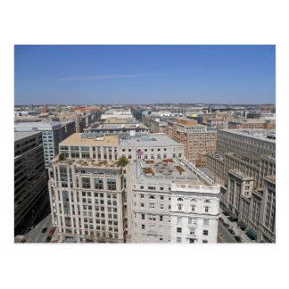 Washington DC da torre velha 001 da estação de Cartão Postal