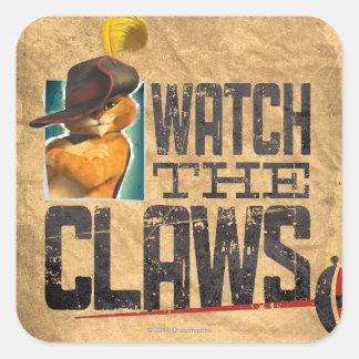 Watch The Claws Sticker