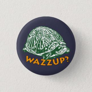 Wazzup - pequeno, 1 botão redondo da polegada do ¼ bóton redondo 2.54cm