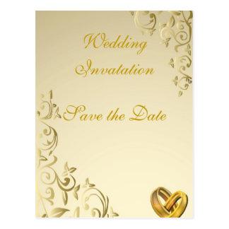 Wedding Cartão Postal