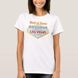 Wedding de Las Vegas da madrinha de casamento Tshirts
